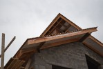 Кладка крыши